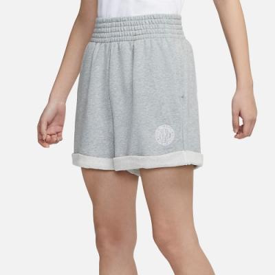NIKE 短褲 休閒 運動褲  灰色 女款 CZ8227063 AS W NSW FEMME SHORT FT HR