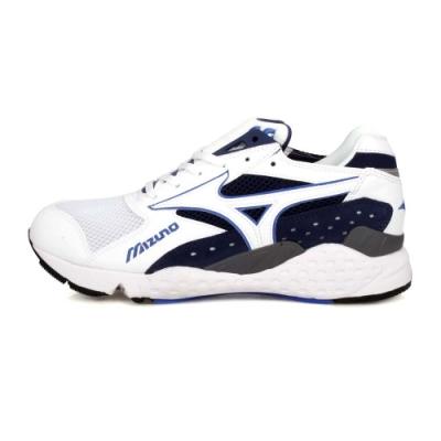 MIZUNO 男 1906休閒慢跑鞋 MONDO CONTROL 白深藍灰