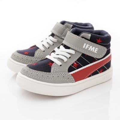 IFME健康機能鞋 護踝支撐靴款 NI71212藍紅(小童段)