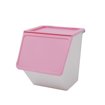 完美主義 大嘴鳥收納箱/塑膠櫃/衣物收納/38L-4入組(4色)