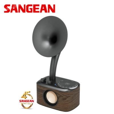 SANGEAN 藍芽音箱收音機 45週年黑色-蕭邦