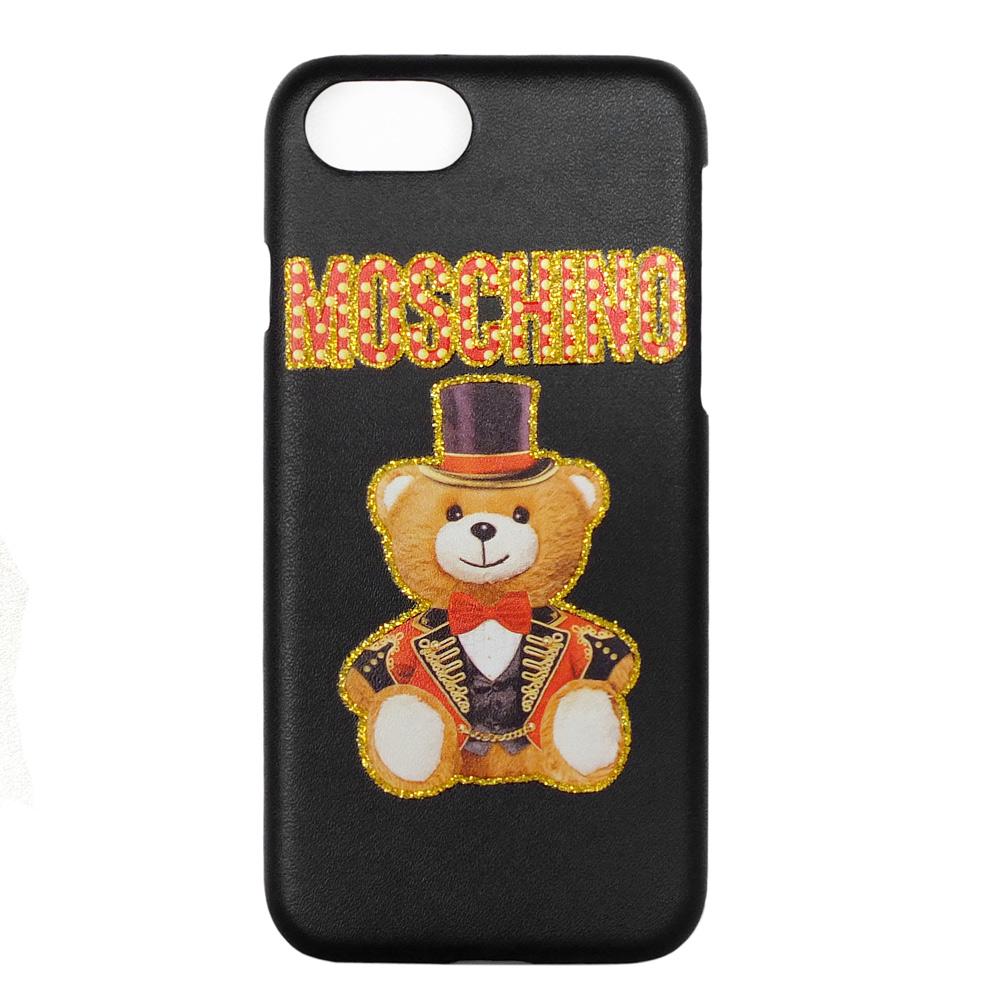 MOSCHINO 新款皇家熊熊 I Phone 6.7.8 手機殼 (黑色) @ Y!購物