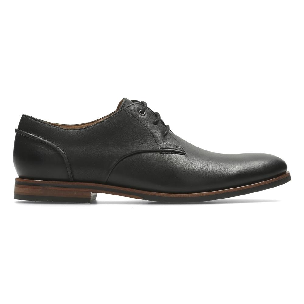 Clarks Broyd Walk 男正裝皮鞋黑| 休閒鞋