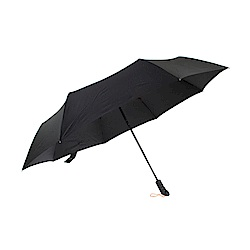 三隻小熊大傘面超防水奈米自動傘-黑