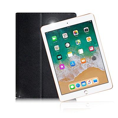 For iPad 2018 版 9.7吋 經典平板斜立翻頁式保護套