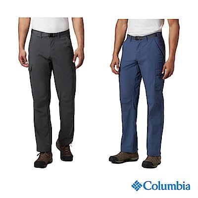 Columbia 哥倫比亞 男款-防潑防曬30長褲-2色 UAM86860
