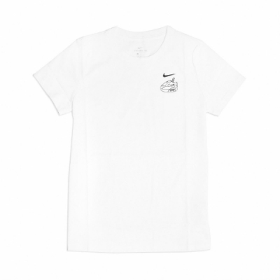 Nike T恤 Taiwan T Bubble Tea 女款 台灣 珍珠奶茶 塗鴉 圓領 棉質 白 黑 CZ3598100