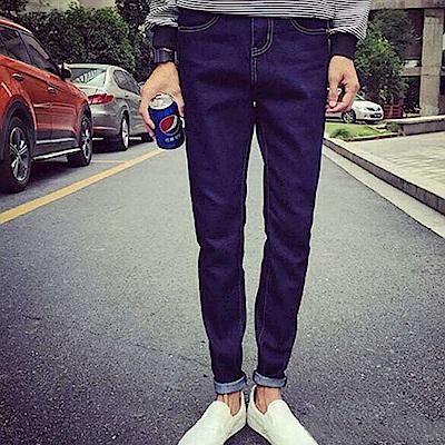 BuyGlasses Skinny深藍超窄牛仔褲