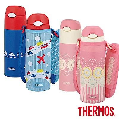 THERMOS膳魔師不鏽鋼真空保冷瓶0.4L(FHL-400F)