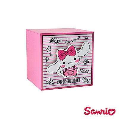 Pinkholic 大耳狗喜拿 直式單抽盒 桌上收納 文具收納 飾品收納