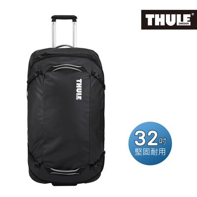 THULE-Chasm 110L 32吋滾輪式行李袋TCWD-132-黑