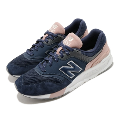 New Balance 休閒鞋 CW997HYA B 復古 女鞋 紐巴倫 N字鞋 麂皮 潮流 穿搭 藍 粉 CW997HYAB