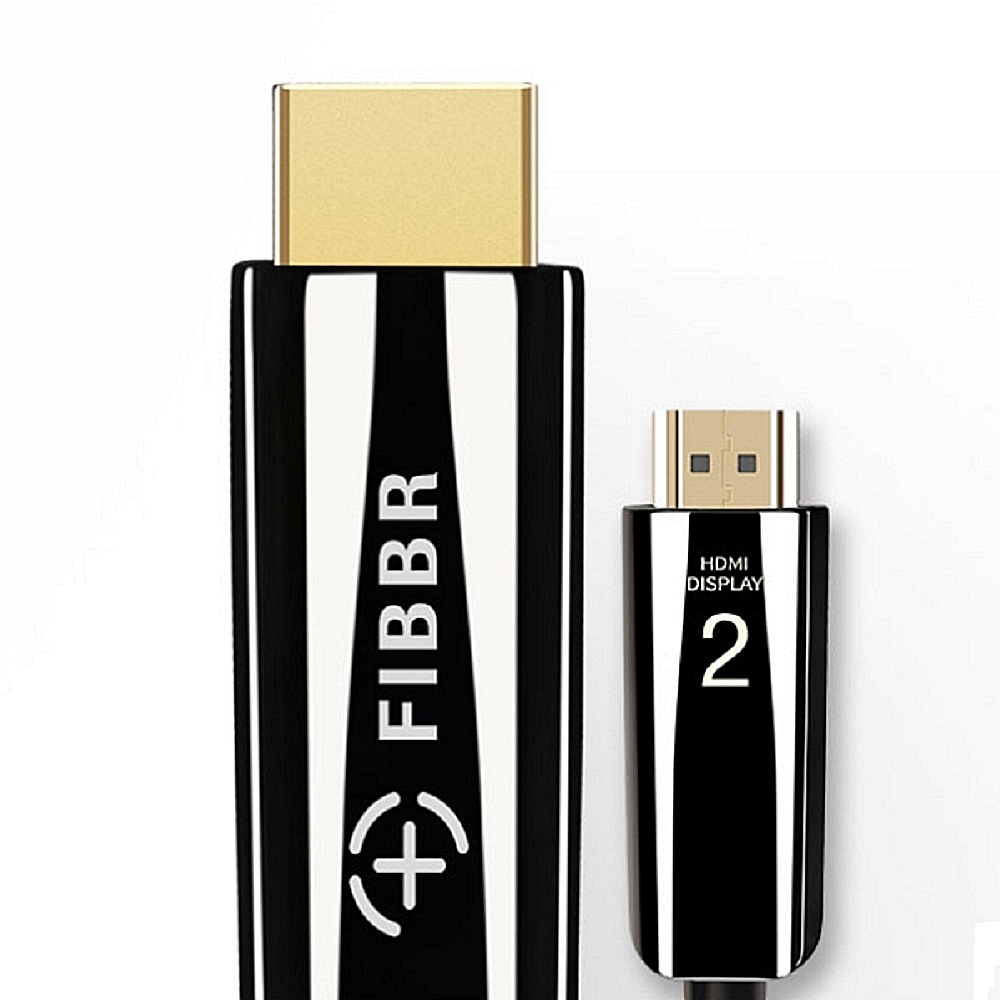 FIBBR Pure 2.0 真4k 鋼琴漆合金材質5米HDMI