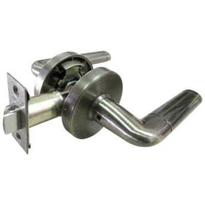 加安 LA6803P 現代風系列通道鎖 60mm 青古銅 圓套盤 水平把手鎖 水平鎖