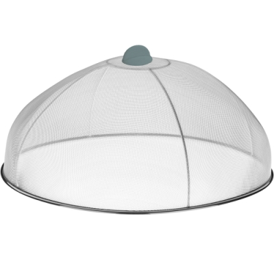 《KELA》不鏽鋼金屬圓桌罩(30cm)