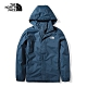 The North Face 男 防水透氣衝鋒外套 藍-NF0A49F7H2G product thumbnail 1