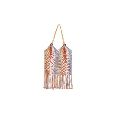 WAVE SHINE-彩色棉線縷空編織包-女【XWH006】