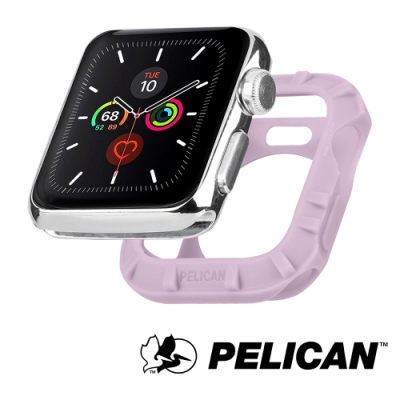 美國 Pelican 派力肯 Apple Watch 42-44mm 1-5代 Protector 保護者保護殼- 淡紫色