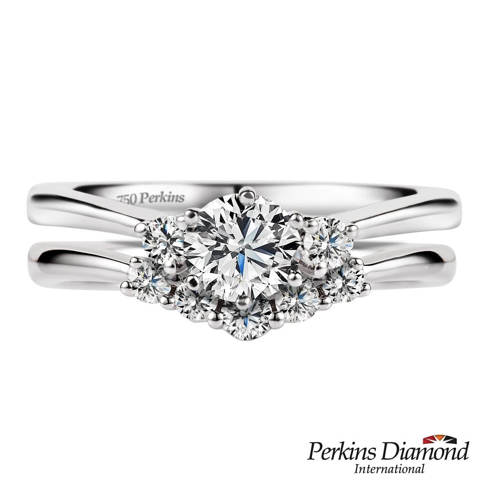 PERKINS 伯金仕-GIA Joseph婚戒系列 E/VVS2 0.30克拉鑽石戒指