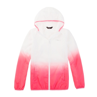 【St. Bonalt 聖伯納】女款漸層色超輕透防曬外套 (8030-粉紅漸層) 抗UV 防曬 防風 防潑水 輕薄 透氣