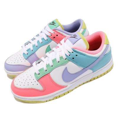 Nike 休閒鞋 Dunk Low SE 運動 女鞋 基本款 簡約 舒適 球鞋穿搭 鴛鴦 白 彩 DD1872100