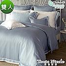 Tonia Nicole東妮寢飾 伊莉莎白環保印染100%萊賽爾天絲被套床包組(雙人)