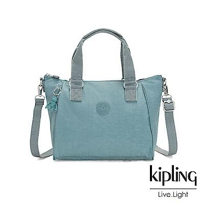Kipling 冰霜綠手提側背包-AMIEL