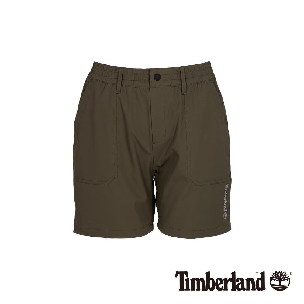 Timberland 女款葡萄葉綠色工裝短褲 B3301
