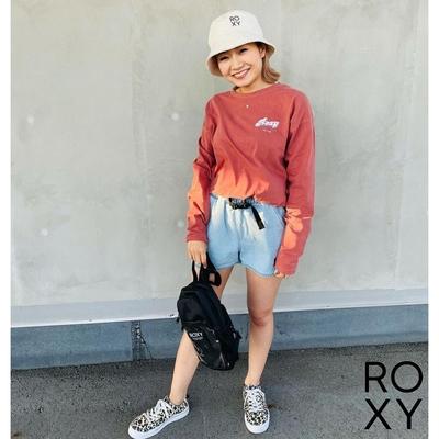 【ROXY】GRAVEL 短褲 藍色