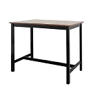 Bernice-夏菲3.6尺黑色實木吧台桌/洽談桌/休閒桌-108x60x91cm