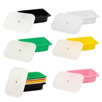 【日居良品】多彩小收納盒2入組-含蓋(5色可選)
