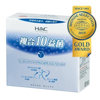 【永信HAC】常寶益生菌粉(30包/3盒入)〈世界品質金獎 順暢有感〉