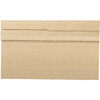 綠活居 法妮佳5尺雙人床頭片(四色可選)-152x3x91cm免組