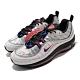 Nike 休閒鞋 Air Max 98 NRG 運動 男鞋 氣墊 避震 經典款 反光 側面可拆式設計 灰 銀 BQ5613001 product thumbnail 1