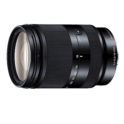 SONY E 18-200mm F3.5-6.3 OSS LE 望遠變焦鏡頭*(平輸)