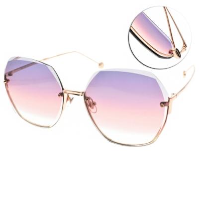 MOLSION 太陽眼鏡 Angelababy代言 /金-漸層紫粉鏡片#MS7082 A33