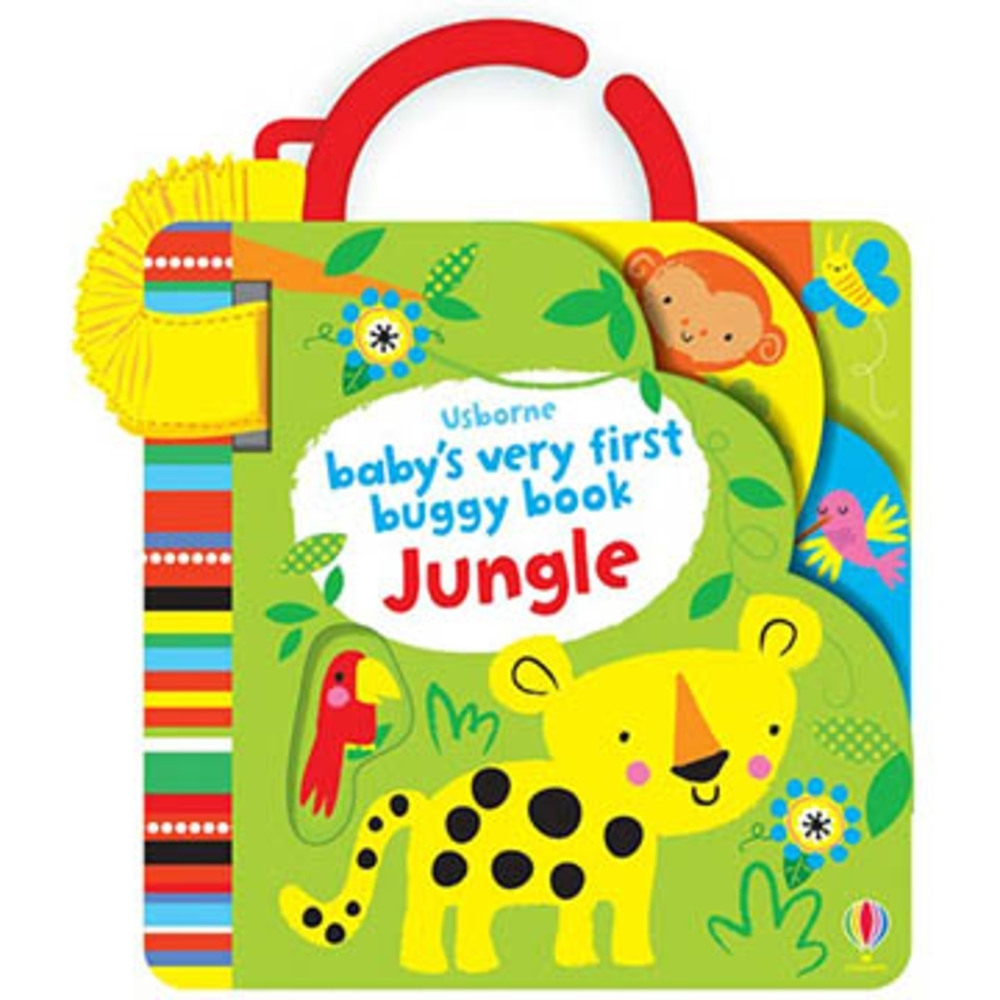 Baby's Very First Buggy Book Jungle 吊掛書:叢林動物