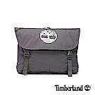 Timberland 中性灰色雙扣斜肩郵差包 |A1CV3