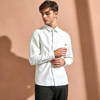 CACO-紗點厚款襯衫-(兩色)-男【QAR049】
