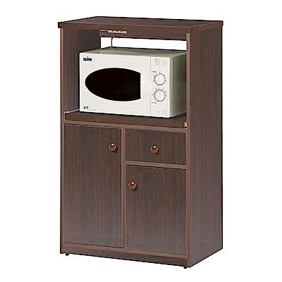 文創集 戴倫環保2.3尺塑鋼二門單抽餐櫃(三色)-69x41x119cm-免組