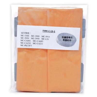 Panasonic國際牌吸塵器專用集塵紙袋(1包5入)TYPE C-13-1