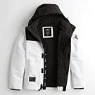 Hollister HCO 男 連帽外套 白色 1490