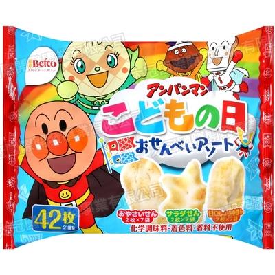 栗山 麵包超人綜合仙貝[期間限定](149.8g)