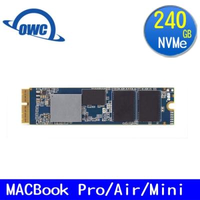 OWC-MAC專用 240GB PCIe NVMe SSD -Aura Pro X2