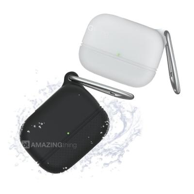 AT【Water-proof】專業IP67防水防塵 Airpods Pro 藍牙耳機保護套 附掛勾