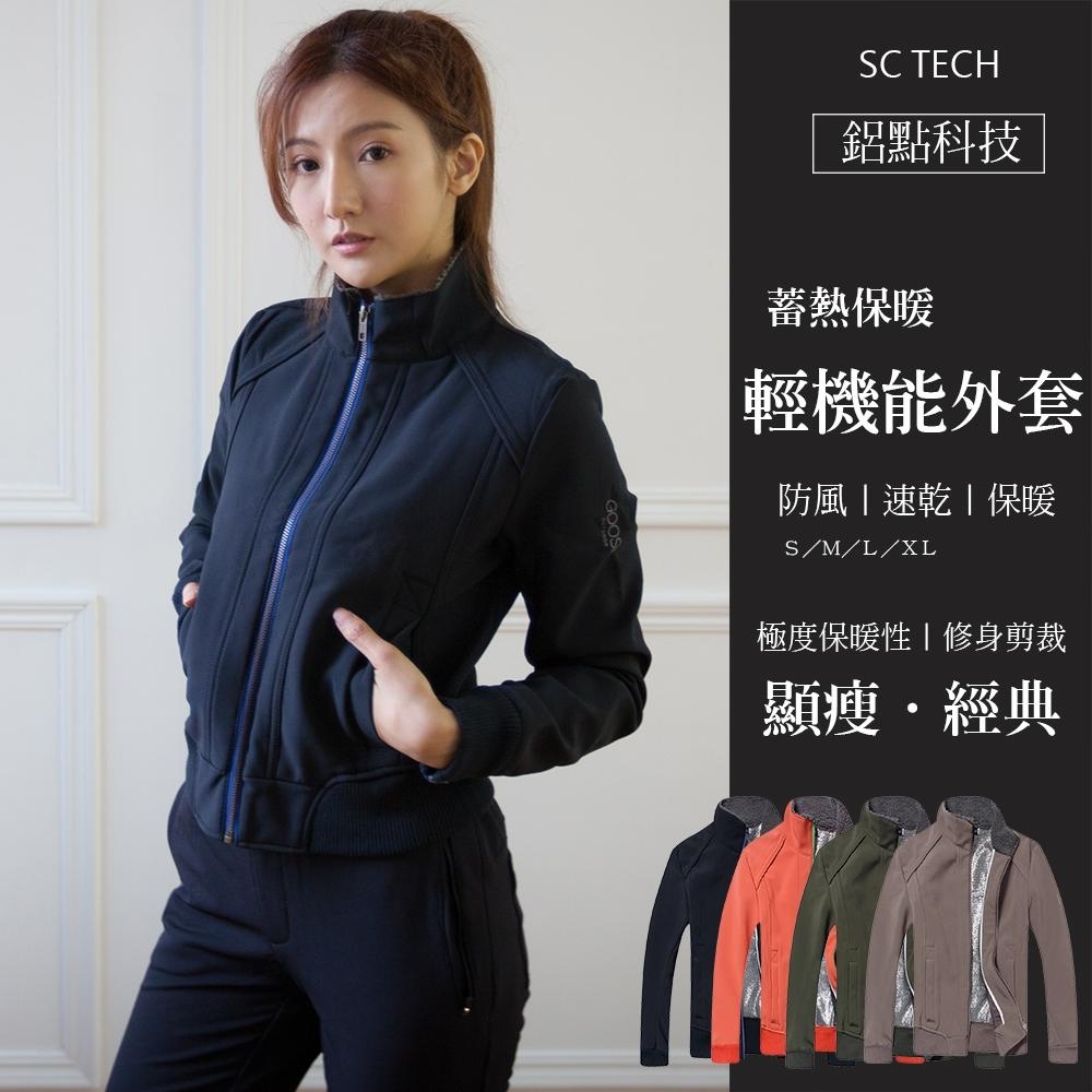 Secret Closet-鋁點科技蓄熱保暖輕機能外套-黑