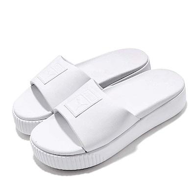 Puma 涼拖鞋 Platform Slide 套腳 女鞋