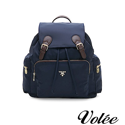 Volee好旅行系列經典隨行後揹包-英國藍