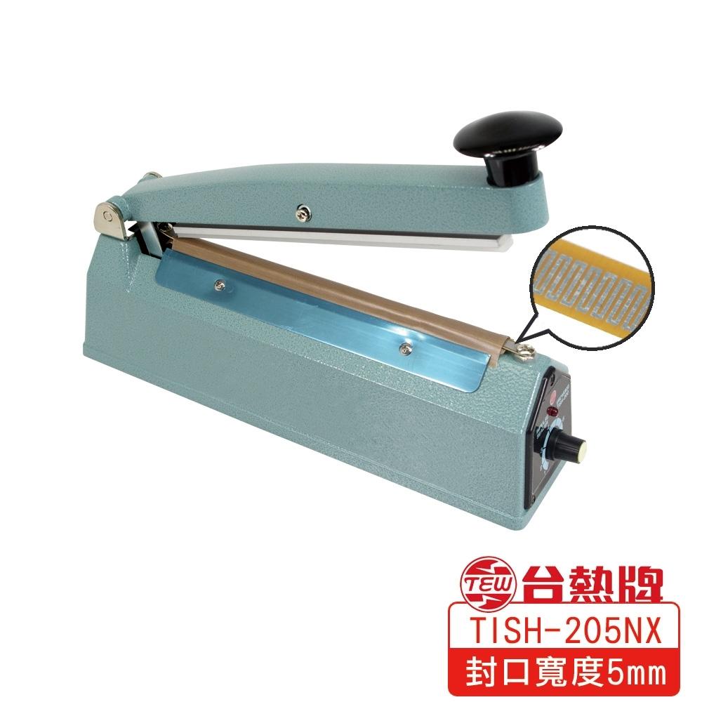 台熱牌TEW 手壓瞬熱式封口機20公分(TISH-205NX)