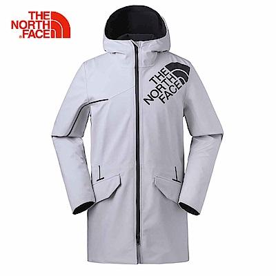 TheNorthFace北面男款白色透氣防水防風衝鋒衣 | 3GJ59B8
